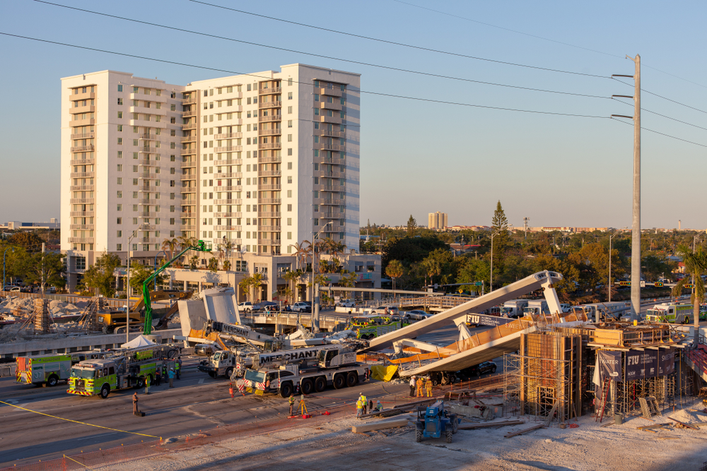 FIU Bridge Collapse New Construction
