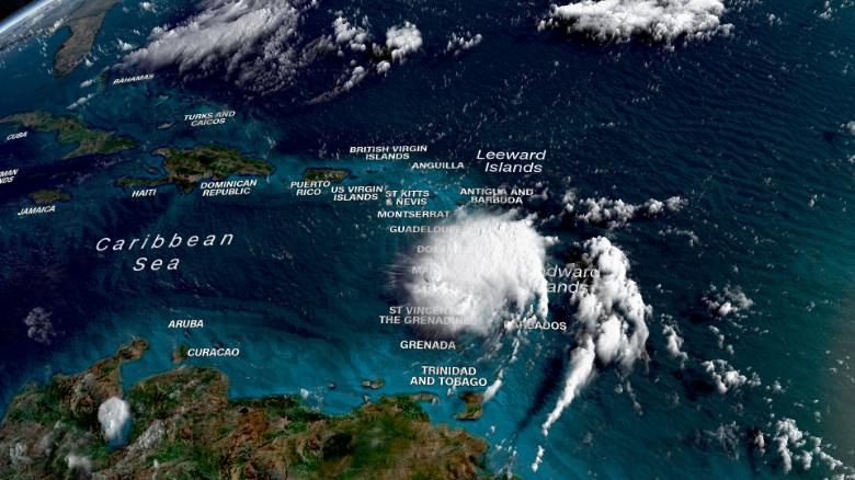 Hurricane Dorian Current Path