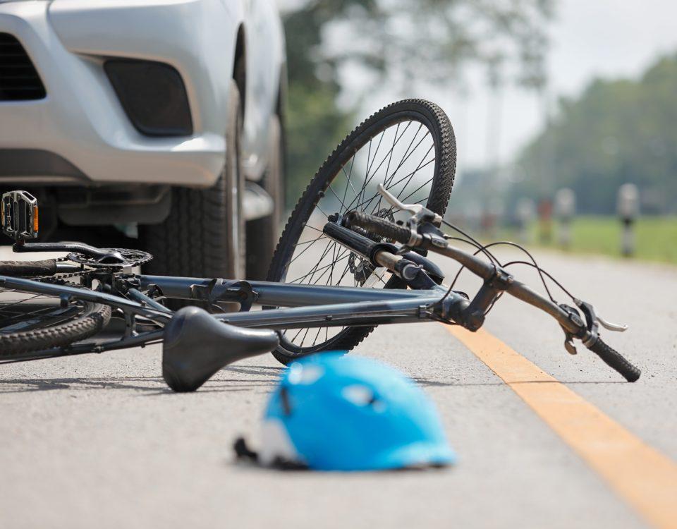 aumentan los accidentes de bicicletas y peatones