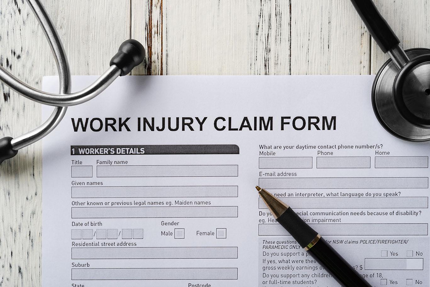 Preguntas frecuentes sobre la solicitud de reclamación de indemnización laboral